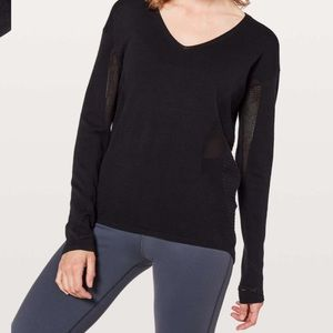 Lululemon Still Movement Sweater Sz 6